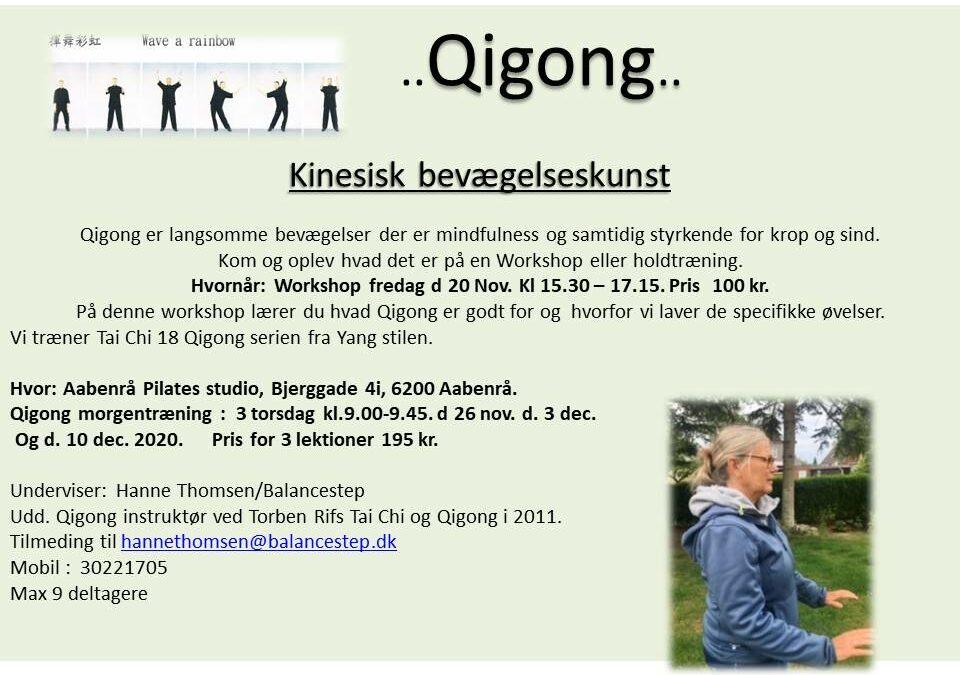 qigong workshop Aabenraa
